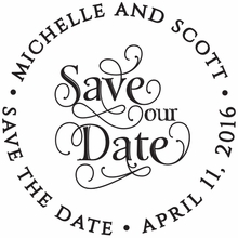 Michelle Personalized Self-Inking Stamp