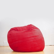 Microsuede Cinnabar Mini Saxx Bean Bag - 3 Feet