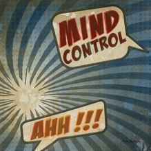 Mind Control Canvas Wall Art