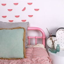 Mini Watermelon Dreams Fabric Wall Decals