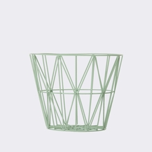 Mint Small Wire Basket