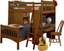 Mission SSS Twin Loft Bed