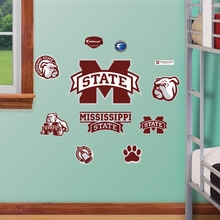 Mississippi State Logo Wall Decals
