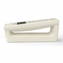 Modern Cordless Phone in White