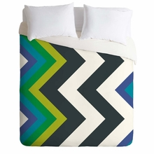 Modernity Galaxy Cool Chevron Lightweight Duvet Cover