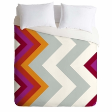 Modernity Solstice Warm Chevron Lightweight Duvet Cover