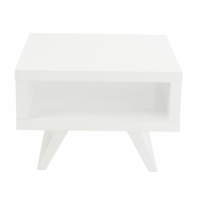 Monique Side Table in White