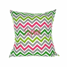 Monogramed Throw Pillow