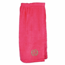 Monogrammed Towel Bath Wrap