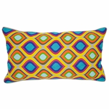 Mosaique Multi Color Throw Pillow