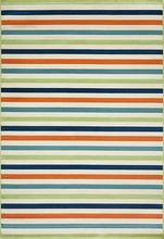 Multi Baja Striped Rug
