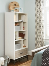 Levi Off White Bookcase