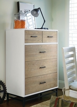 Levi Off White Drawer Chest