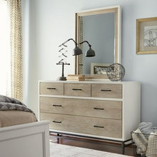 Levi Off White Drawer Dresser