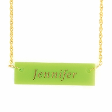 Name Acrylic Necklace