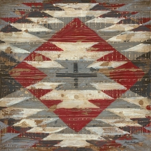 Native Weave Canvas Wall Art