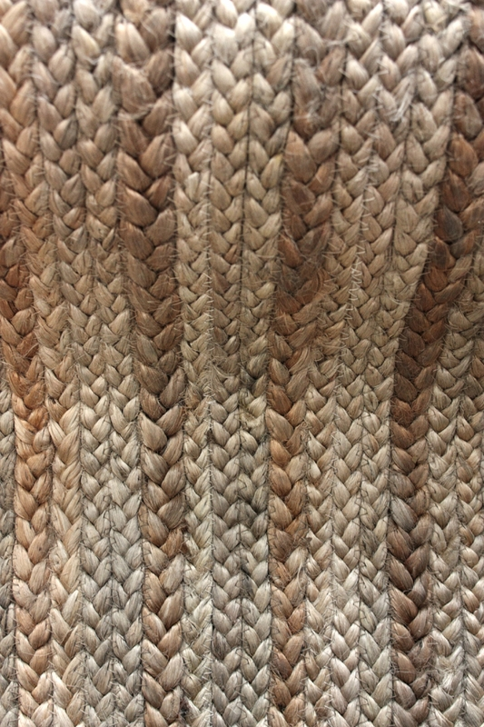 district17: natura braided jute rug in natural: patterned rugs