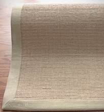 Natura Jute Rug with Beige Border
