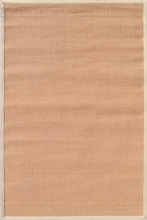 Natural Beige Plain Border Rug