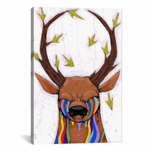 Nature of the Beast Canvas Wall Art