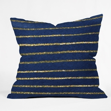 Nautical Sparkle Throw Pillow
