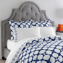 On Sale Navy Hollywood Duvet Cover - Twin