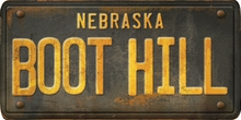 Nebraska Custom License Plate Art