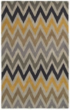 Neutral Chevron Rug