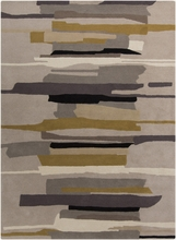 Neutral Painted Stripes Harlequin Rug