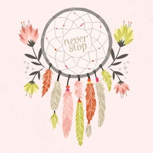 Never Stop Dreaming Canvas Wall Art