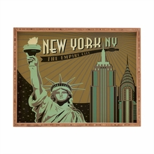 New York Rectangular Tray