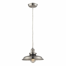Newberry Mini Pendant In Polished Nickel