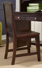 Newlyn Desk Chair in Merlot
