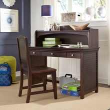 Newlyn Desk in Merlot