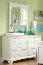 Newlyn Seven Drawer Dresser in Bright White