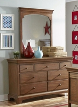 Newlyn Seven Drawer Dresser in Driftwood