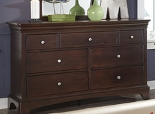 Newlyn Seven Drawer Dresser in Merlot