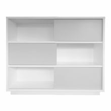 Nilo Bookcase with Doors