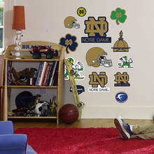 Notre Dame Logo Wall Decals