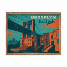 NYC Brooklyn Rectangular Tray