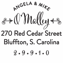 O'Malley Personalized Self-Inking Stamp