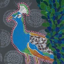 Oh My Peacock! Canvas Wall Art