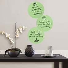 Oh Pear Dry-Erase Dot Wall Decals