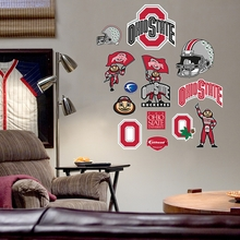 Ohio State Logo Wall Decals