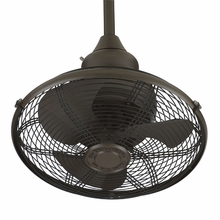 Oil-Rubbed Bronze Extraordinaire Cage Ceiling Fan