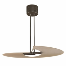 Oil-Rubbed Bronze Marea Wave Ceiling Fan