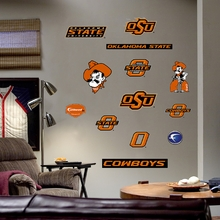 Oklahoma State Logo Wall Decals