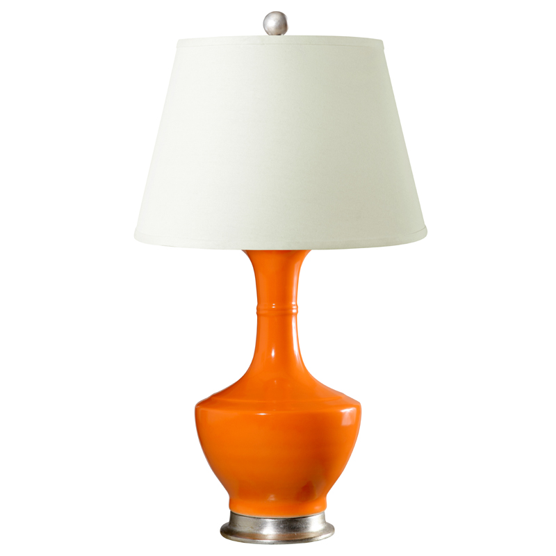 Attractive Orange Brussels Lamp Base