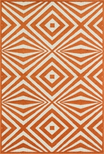 Orange Diamonds Catalina Rug