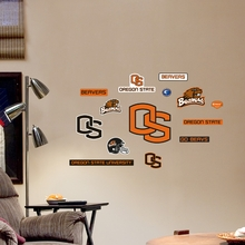 Oregon State Logo Wall Decals